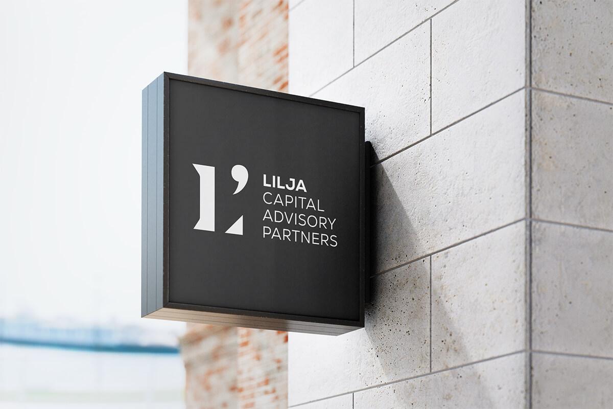 Lilja Capital Advisory Partners: Brand Identity